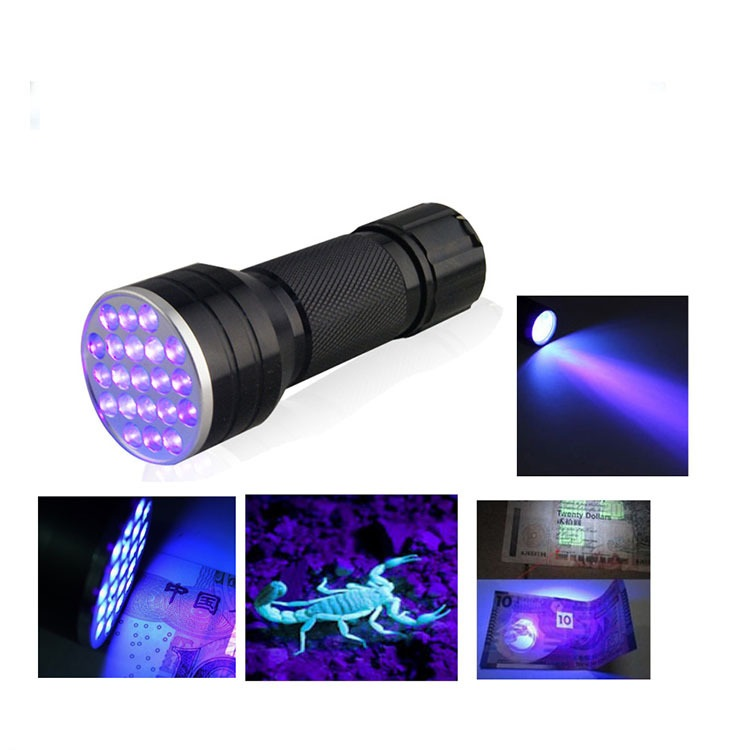 21led uv flashlight