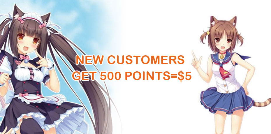 New Customer 500points