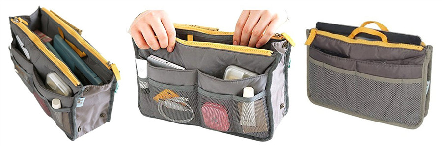 Double Zipper Makeup/Storage Bag