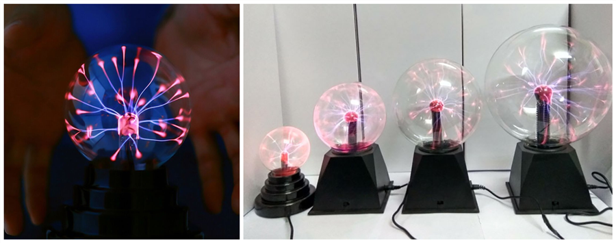 Magical Electrostatic Ball Night Light